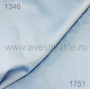 Ткань Ричард 154020/1346 голубая гладь