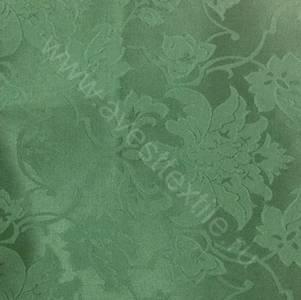 Ткань Ричард 186114/1589 зеленая цветочный узор