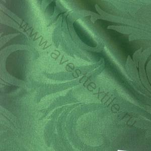 Ткань Ричард 186114/1625 зеленая перья