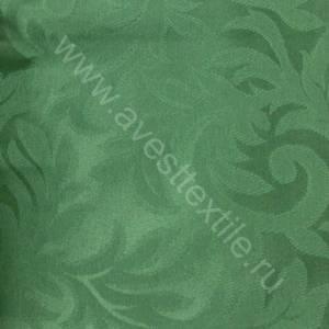 Ткань Ричард 186114/1828 зеленая листья