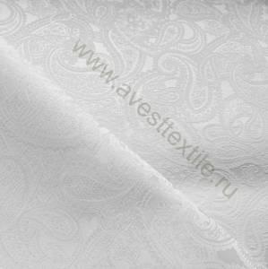 Ткань Мати 010101/2015 белая огурцы