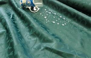 Скатерть овальная 240х150 361003/1760 Темно-Зеленая вьюн