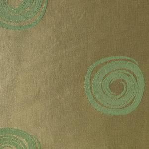 Ткань Мати 440604 +040403/1719 золотисто-зеленая круги