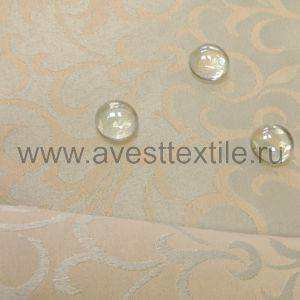 Ткань Ричард 050302+390301/1751 серебро римский узор