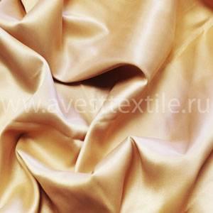 Ткань Атлас-Сатин персик