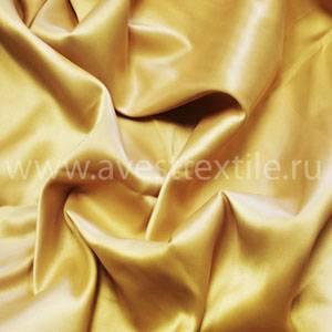Ткань Атлас-Сатин золотистый