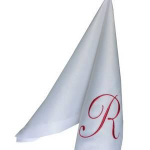 Вышивка логотипа R