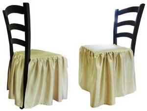 Чехол-юбка на стул