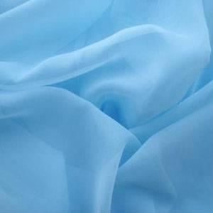 Ткань Вуаль голубая
