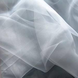 Ткань Вуаль белая