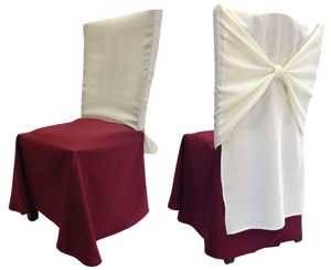 Чехол на стул Универсальный комбинированный