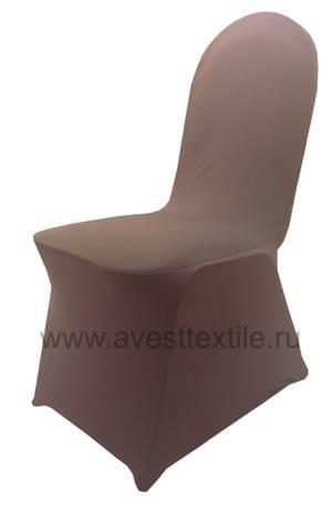 Чехол на стул Стрейч-Спандекс (Шоколад)