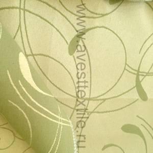 Ткань Ричард 030403+450504/2131 фисташка простой завиток