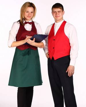 Комплект формы для официанта