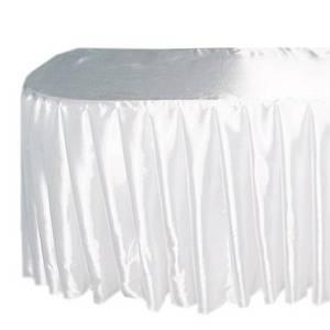 Фуршетная юбка-чехол 6,0х0,70 один к трем АТЛАС-САТИН