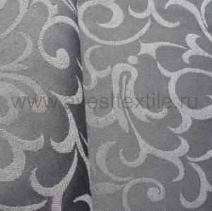 Ткань Ричард 194014/1751 графит римский узор