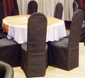 Чехол на стул Черный
