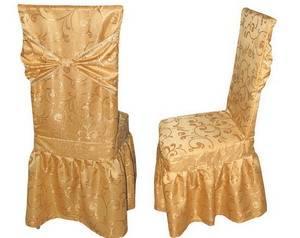 Чехол на стул Скала золото