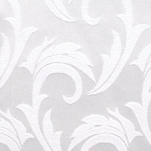 Ткань Мати 010101/1625 белая перья