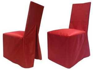 Чехол на стул банкетный Красный