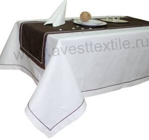 Дорожка 140х50 191020/1812 шоколад мелкий завиток c КАНТОМ
