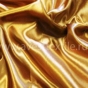 Ткань Атлас-Сатин золото