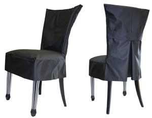 Чехол на стул короткий Грета
