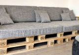 Сидушки для скамеек/паллетный диван