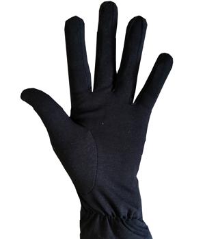 Перчатки для официантов чёрные